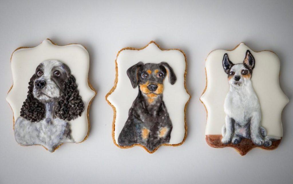 Eläinkeksit koiria